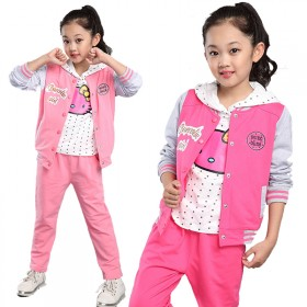 儿童运动三件套套装