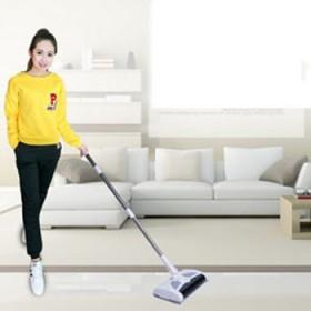 无线手推扫地机 家用电动扫拖地吸尘器自动一体式扫地