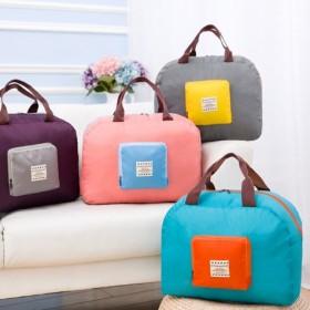 韩版防水可折叠行李包出差短途手提旅行收纳包女行李袋