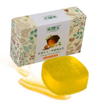 {配起泡网}婴儿童专用蜂蜜皂100g沐浴洗手脸