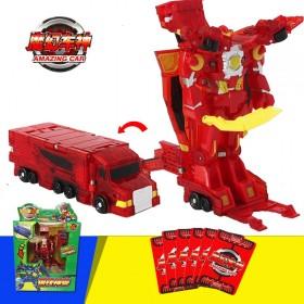 魔幻车神钢铁巨神钢铁神兽爆裂车变形机器人热销礼品