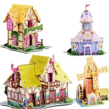 【包邮】 请拍两件 小马宝莉3d拼图幼儿园女孩益智玩具