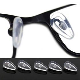 【5副装】近视眼镜上螺丝款硅胶鼻托