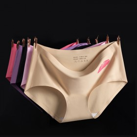 【3条价】清清裤内裤女品牌无痕私护纳米银离子