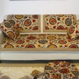 坐垫 沙发垫 高档亚麻沙发垫 沙发巾 纯棉沙发套
