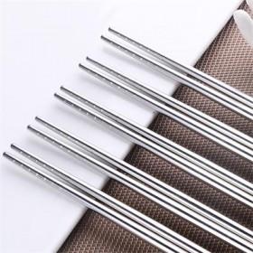 【5双装X4套】304不锈钢筷子防滑防烫