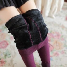 350g加绒加厚 女士打底裤保暖袜冬季加绒加厚