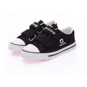 童鞋男童鞋女童儿童低帮鞋帆布鞋球鞋运动休闲学生鞋