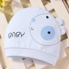 婴儿宝宝帽子新生儿胎帽初生儿帽子春秋季0-3个月