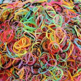 5000根儿童发饰发绳头饰女童发圈一次性扎头发小橡