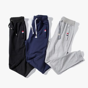 2016运动裤男哈伦裤束脚裤男青少年