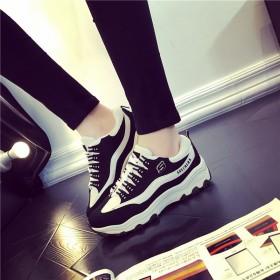 2016圆头防水春夏新款低帮女单鞋 休闲鞋