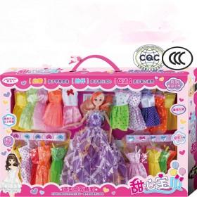芭比娃娃大礼盒套装儿童玩具洋娃娃