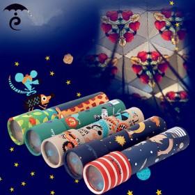 升级版大号万花筒 给孩子色彩的童年学习玩具开发智力