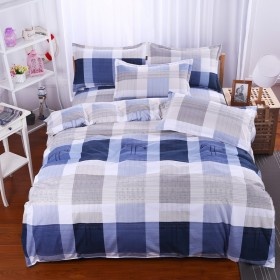 【特惠】全棉磨毛加厚床上用品四件套优质不褪色不缩水