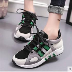 运动休闲鞋厚底松糕鞋内增高女鞋子跑步韩版学生潮