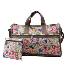 时尚印花女士中号单肩斜挎包旅行包