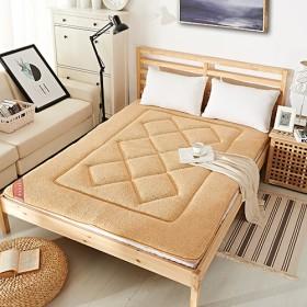 羊羔绒加厚榻榻米床垫床褥全尺寸