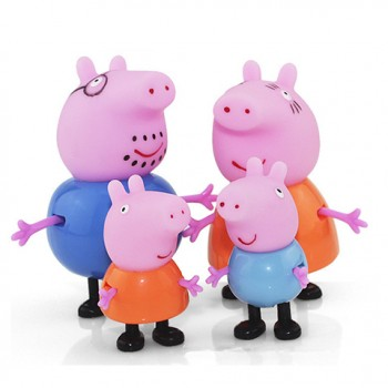 【包邮】 巨亏一天,小猪佩奇一家玩具