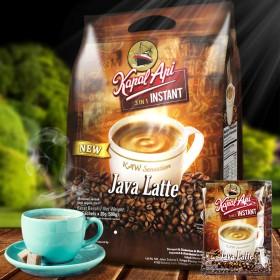 印尼原装进口爪哇丝滑拿铁速溶咖啡 口感醇厚