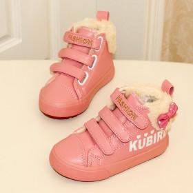 女童加绒保暖棉防滑鞋冬鞋
