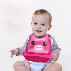 可拆卸防水宝宝吃饭围兜饭兜婴儿围嘴小孩口水巾