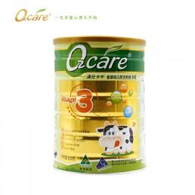 澳洲原装进口Ozcare3段婴儿牛奶粉900g