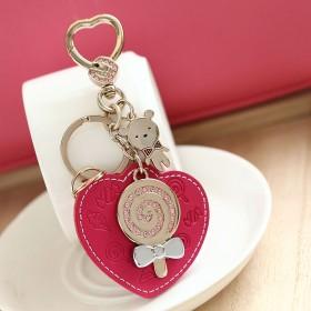 浪漫波板糖钥匙扣 可爱钥匙圈钥匙链饰品 创意礼品