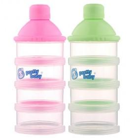 4层婴儿外出4层奶粉盒便携奶粉格奶粉罐零食分装盒