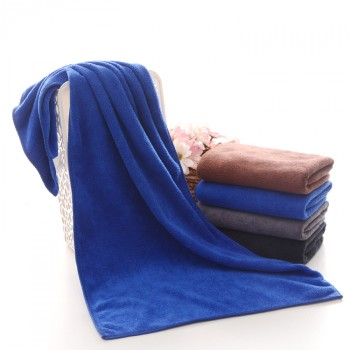 【包邮】 超强吸水毛巾美容院理发店发廊包头加厚干发毛巾批发