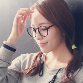 复古圆形平光镜 同款经典近视眼镜框 小清新框架镜