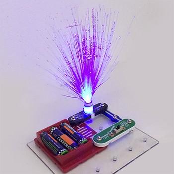 【包邮】 电学小子 儿童益智电子积木 拼插拼装物理电路玩具科