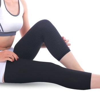 薄自发热护腿保暖护膝