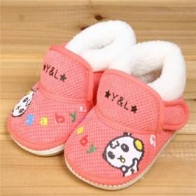 0-1岁宝宝棉鞋学步鞋牛筋防滑底