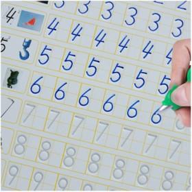儿童练字帖楷书练字板凹槽