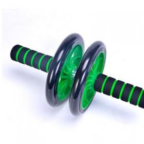 健腹双轮轮腹肌轮女锻炼练腹部健身器材
