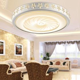 LED吸顶灯简约现代大气客厅灯创意个性铁艺花朵卧室