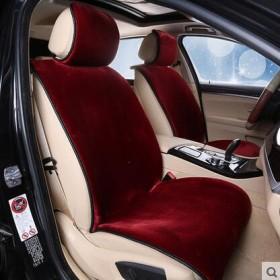 冬季新款汽车羊毛坐垫短毛绒座垫汽车用品
