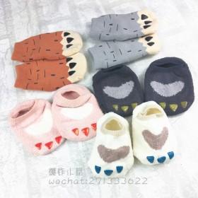韩国秋冬婴儿袜子宝宝儿童防滑地板袜早教袜儿童袜子