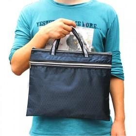 A4多层文件包 男女士办公资料袋 帆布文件袋