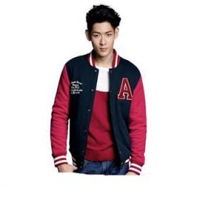 真维斯开衫卫衣冬季男士长袖休闲外套男韩版学生棒球服