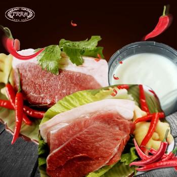 天籁之香藏香黑猪肉 买前夹后腿肉3斤送250g猪油