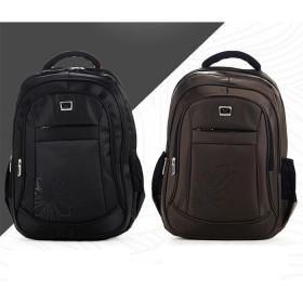 双肩包男休闲背包商务电脑包双肩背包