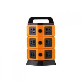 USB立式插座多插口排插接线板