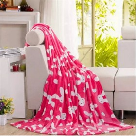 珊瑚绒毛毯盖毯法兰绒床单学生单双人空调毯子特价