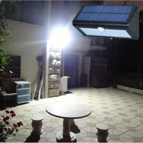 超亮太阳能人体感应灯光控防水路灯LED家用户外壁灯