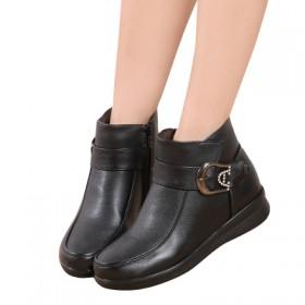 加绒保暖棉靴 女