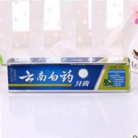 品牌云南白药去口臭祛牙烟渍美白清新口气留兰香牙膏