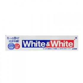 日本代购 White﹠White 狮王牙膏150g