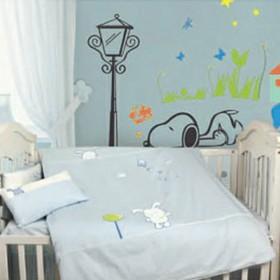 贝贝帕克秋冬婴儿男童女童幼儿园被子床被枕芯被芯棉被